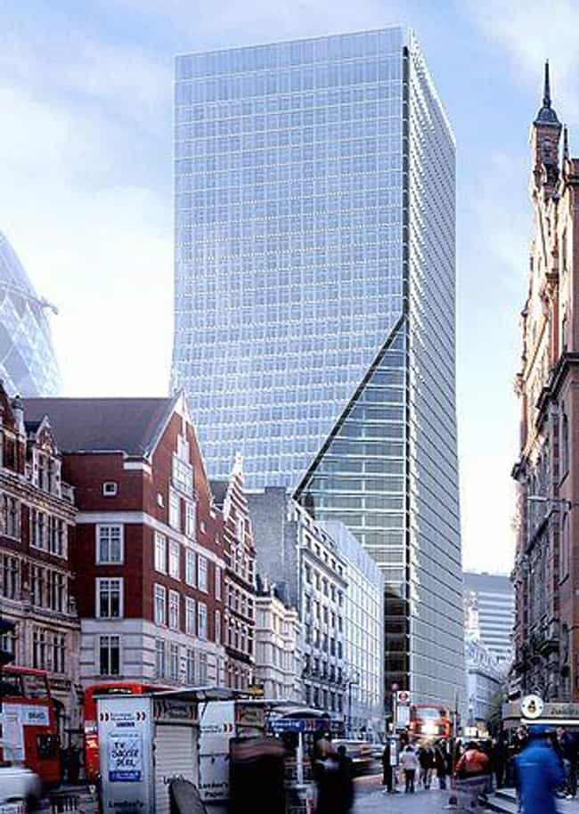 100 Bishopsgate is listed (or ranked) 1 on the list List of Famous City of London Buildings & Structures