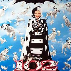 102 Dalmatians is listed (or ranked) 6 on the list The Best Live Action Animal Movies for Kids