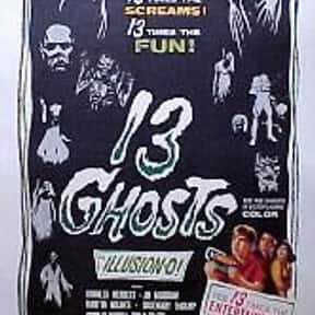13 Ghosts is listed (or ranked) 5 on the list The Best Horror Movies That Take Place in Castles