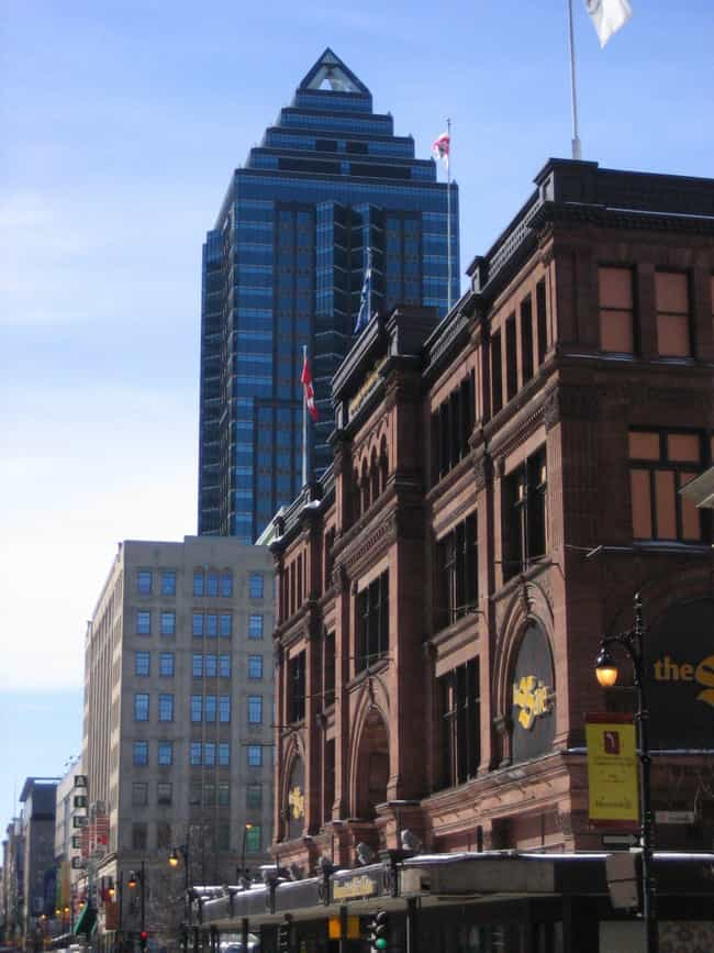 1501 McGill College is listed (or ranked) 4 on the list List of Famous Montreal Buildings & Structures