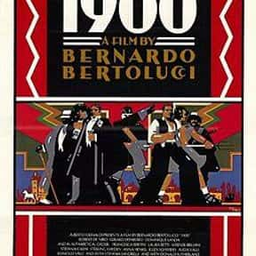 1900 is listed (or ranked) 2 on the list Films Scored By Ennio Morricone
