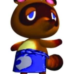 Tom Nook is listed (or ranked) 22 on the list Fictional Characters Named Tommy