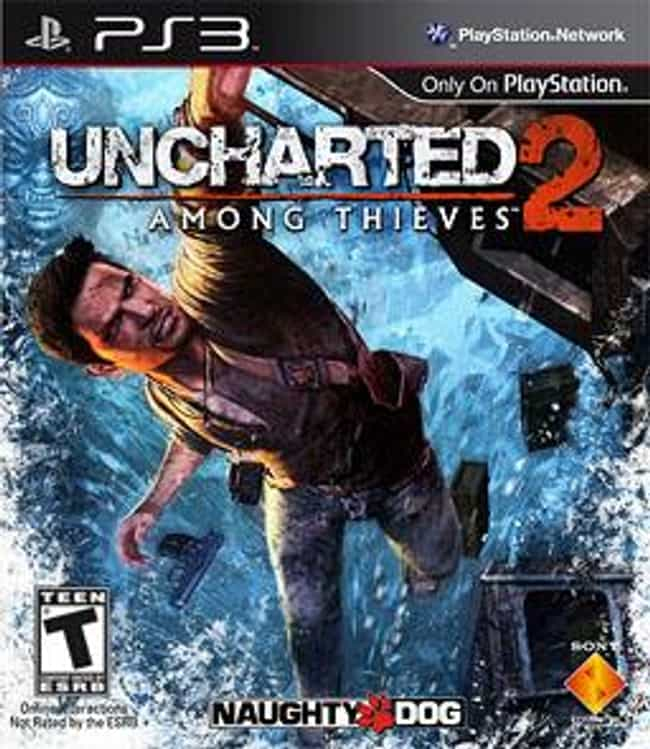 Uncharted 2: Among Thieves is listed (or ranked) 2 on the list The Best Uncharted Games