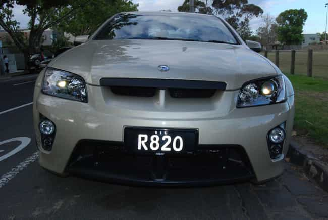 Vauxhall VXR8 is listed (or ranked) 1 on the list Full List of Vauxhall Models