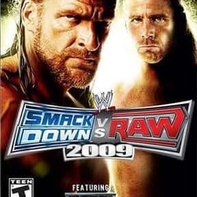 WWE SmackDown vs. Raw 2009 is listed (or ranked) 13 on the list The Best Wrestling Games of All Time