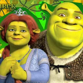 Shrek is listed (or ranked) 13 on the list The Greatest Cartoon Characters in TV History