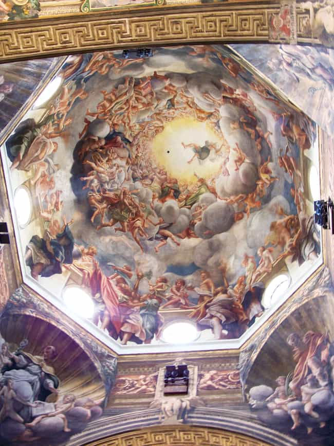 Assumption of the Virgin... is listed (or ranked) 2 on the list Famous History Paintings by Antonio Da Correggio