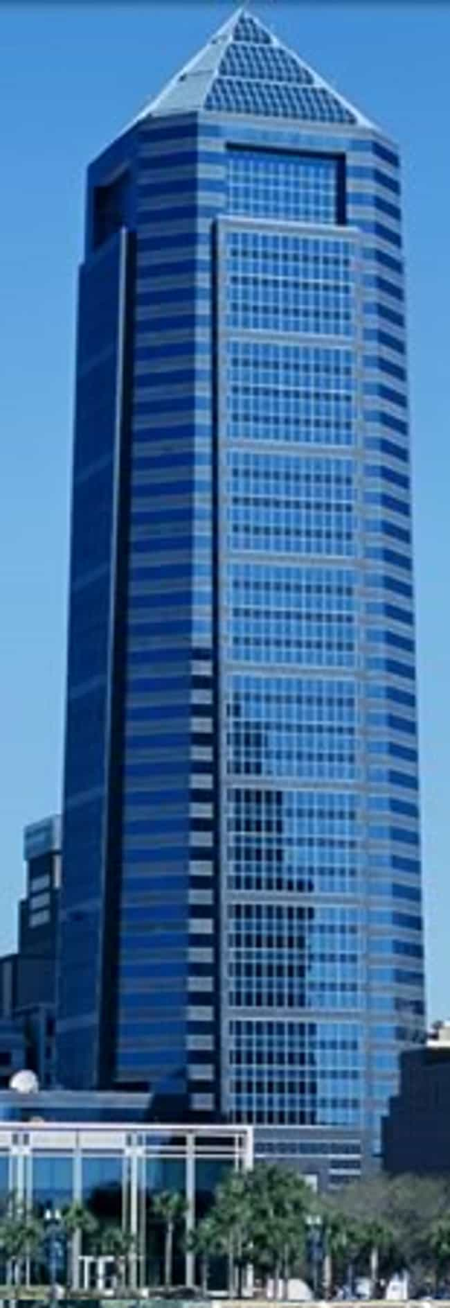 Bank of America Tower is listed (or ranked) 3 on the list List of Famous Jacksonville Buildings & Structures