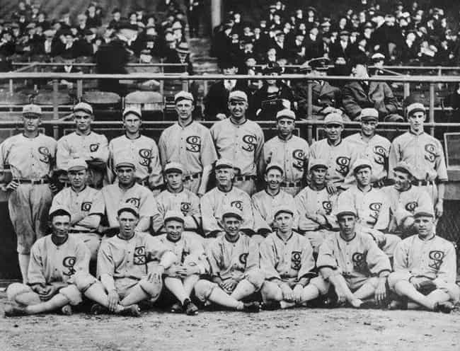 1919 World Series is listed (or ranked) 3 on the list 8 Shocking Historical Events That Have Been Blamed on the Mafia
