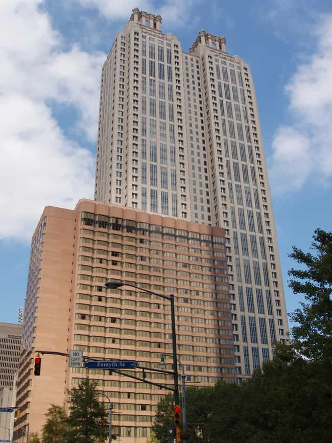 191 Peachtree Tower is listed (or ranked) 3 on the list List of Famous Atlanta Buildings & Structures