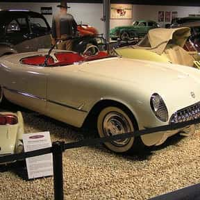 1953 Chevrolet Corvette is listed (or ranked) 1 on the list List of Popular Convertibles