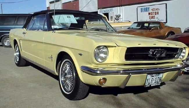 1964 Ford Mustang is listed (or ranked) 2 on the list List of All Cars Made in 1964