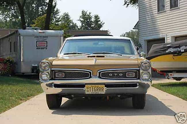 1964 Pontiac GTO 1964-19... is listed (or ranked) 4 on the list The Best Pontiac GTOs of All Time