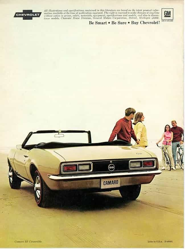 what new car did chevy release in 19681968 Cars List of All Cars from 1968