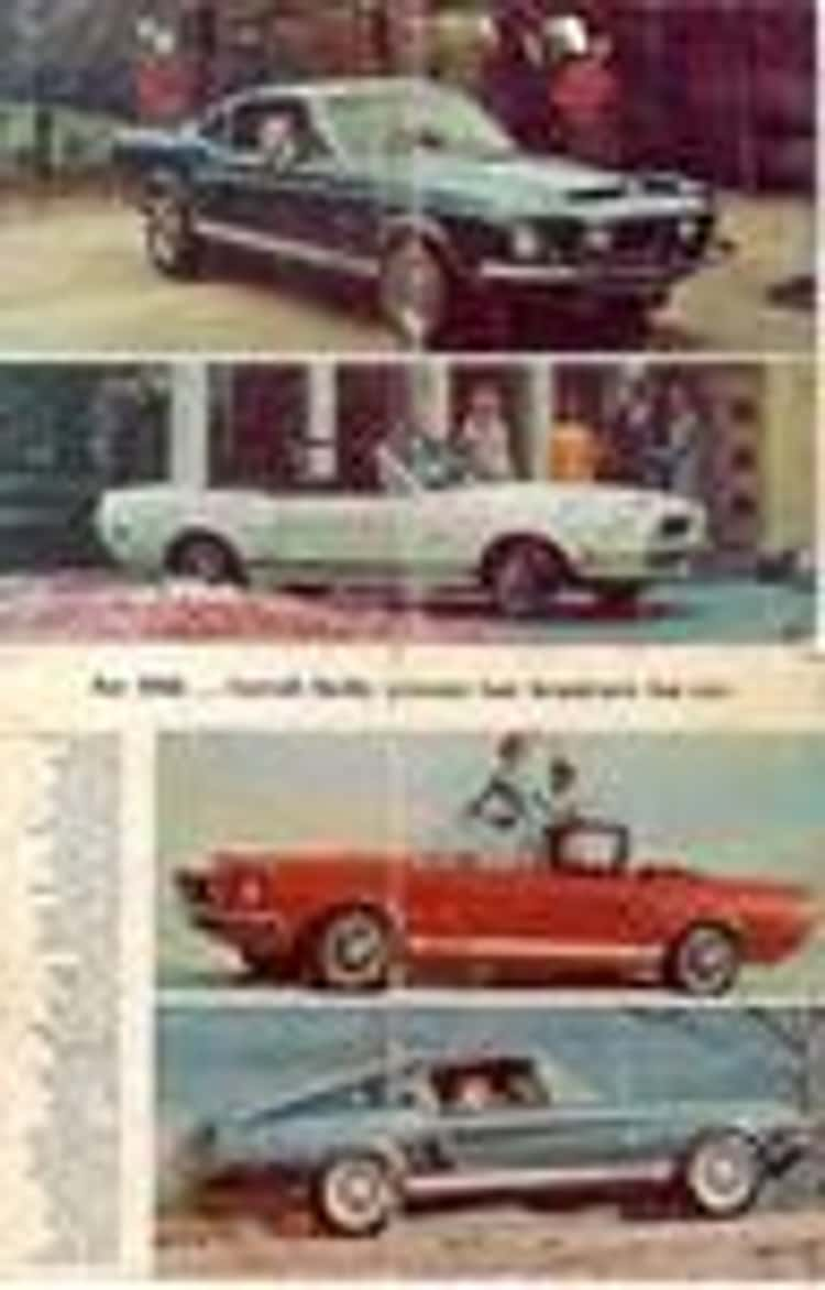 1968 Shelby GT500 1967-1968 Ford Mustang Fastback