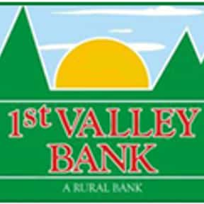 1st Valley Bank is listed (or ranked) 5 on the list List of Financial Services Companies