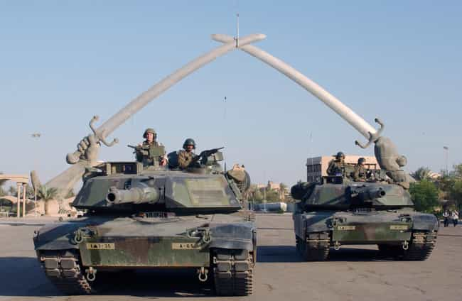 2003 invasion of Iraq is listed (or ranked) 3 on the list List Of Iraq War Battles