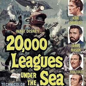 20,000 Leagues Under the Sea is listed (or ranked) 8 on the list The Best Sci-Fi Movies of the 1950s