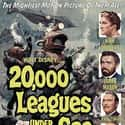 20,000 Leagues Under the... is listed (or ranked) 10 on the list The Best Disney Movies Based on Books