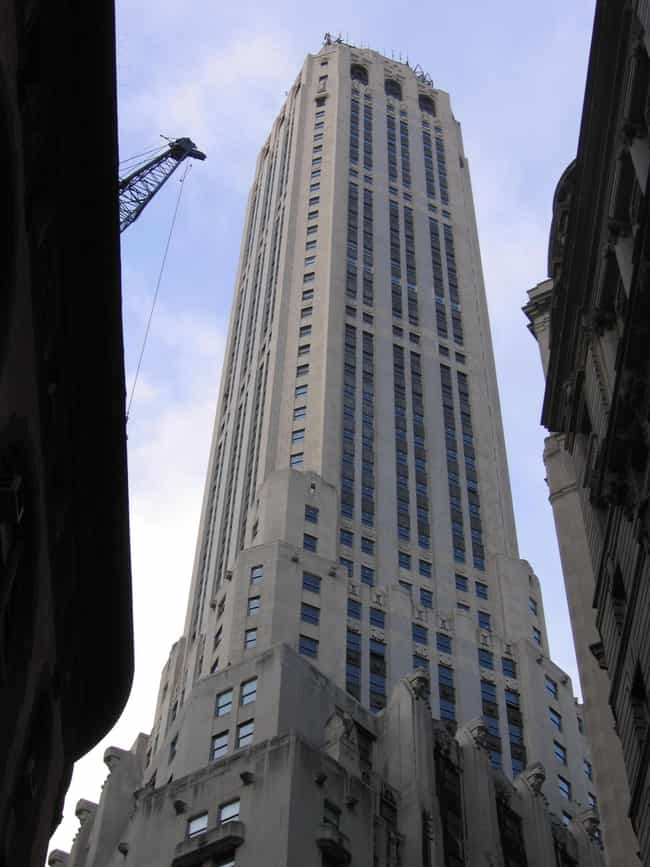 20 Exchange Place-CIBC B... is listed (or ranked) 3 on the list List of Famous Manhattan Buildings & Structures