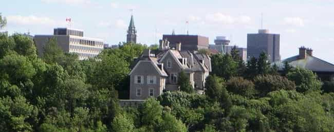 24 Sussex Drive is listed (or ranked) 4 on the list List of Famous Ottawa Buildings & Structures