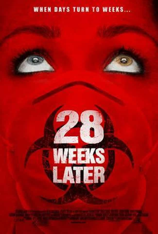 "28 Weeks Later is listed (or ranked) 3 on the list Shows & Movies to Watch If You Love ""The Walking Dead"""