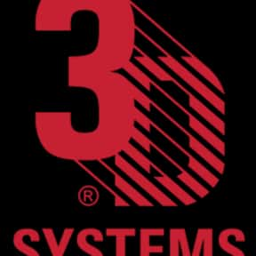 3D Systems is listed (or ranked) 3 on the list Companies Founded in California