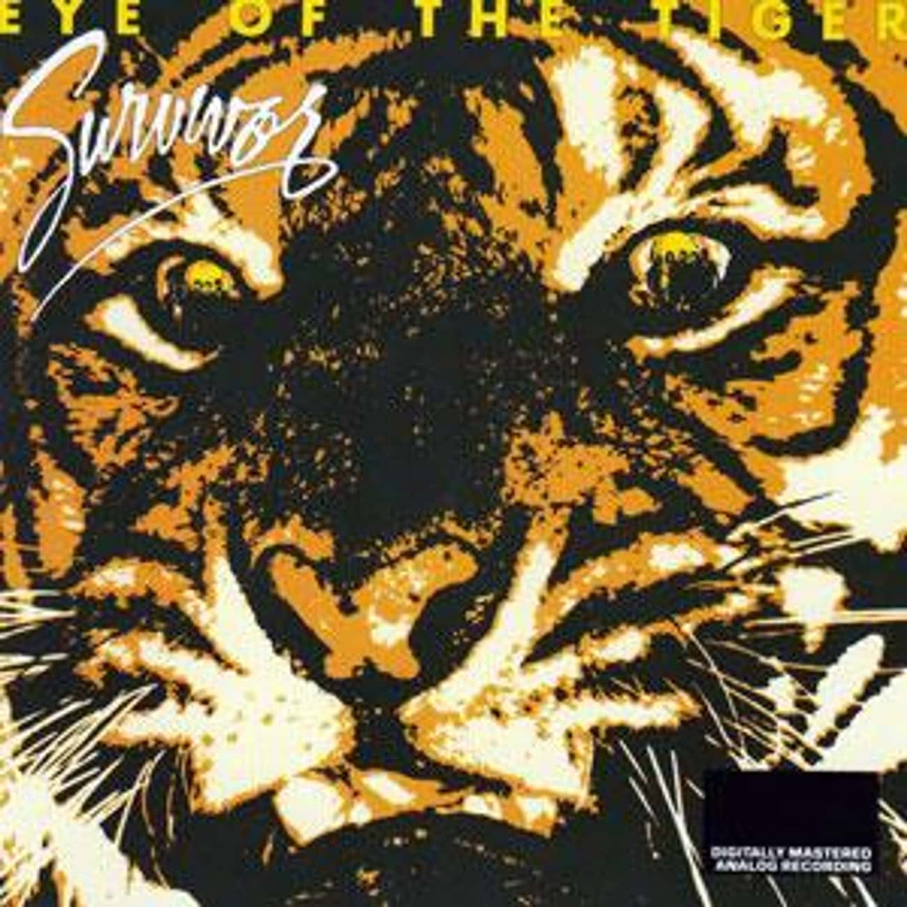 Eye of the Tiger is listed (or ranked) 2 on the list The Best Survivor Albums of All Time