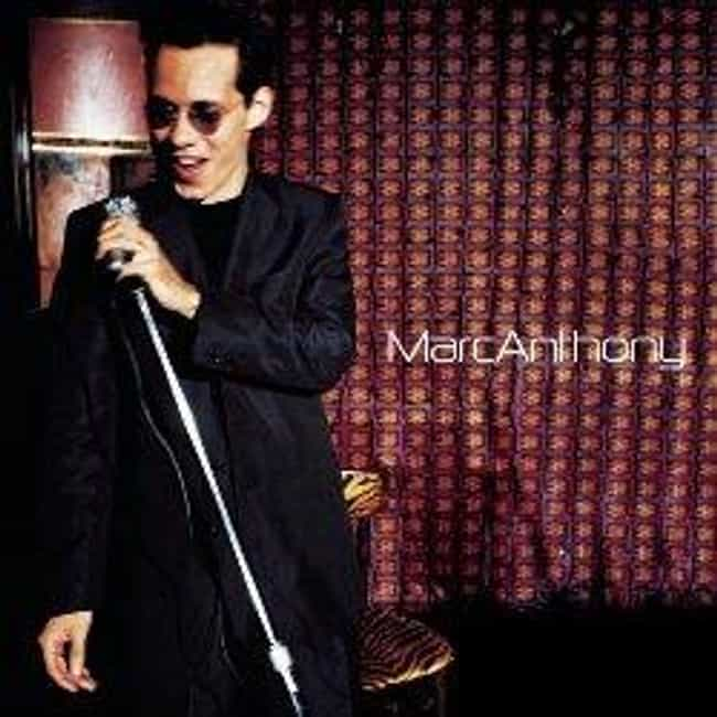 Marc Anthony is listed (or ranked) 1 on the list The Best Marc Anthony Albums of All Time