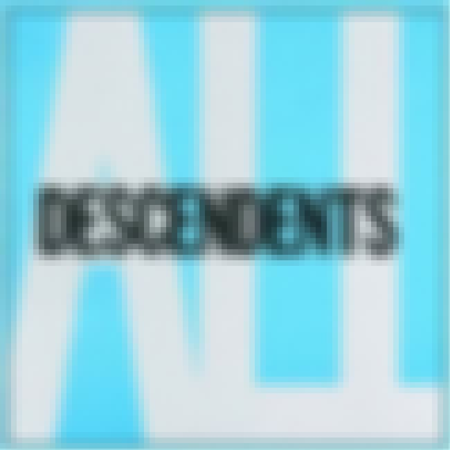 ALL is listed (or ranked) 3 on the list The Best Descendents Albums of All Time