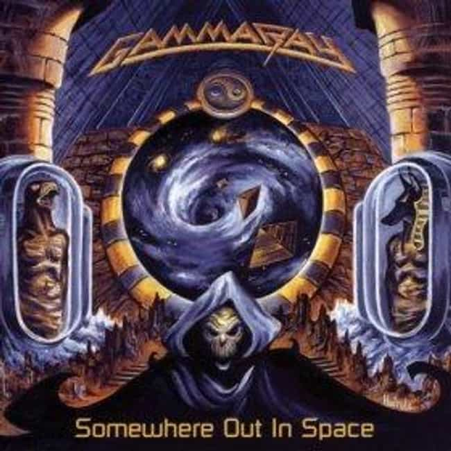Somewhere Out in Space ... is listed (or ranked) 2 on the list The Best Gamma Ray Albums of All Time