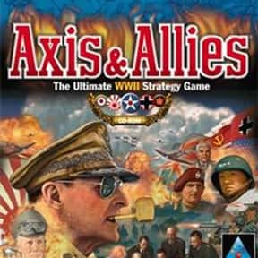 Axis & Allies is listed (or ranked) 5 on the list The Best Video Games Set In WW2