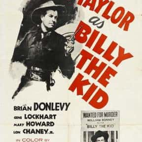 Billy the Kid is listed (or ranked) 17 on the list The Best 1940s Western Movies