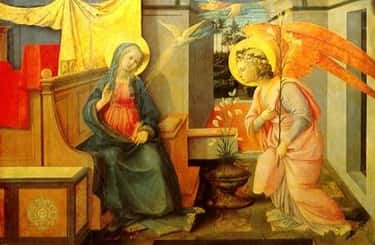 Annunciation is listed (or ranked) 2 on the list The Greatest Works Art About the Annunciation