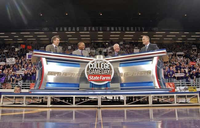 College GameDay is listed (or ranked) 4 on the list What to Watch If You Love 'SportsCenter'