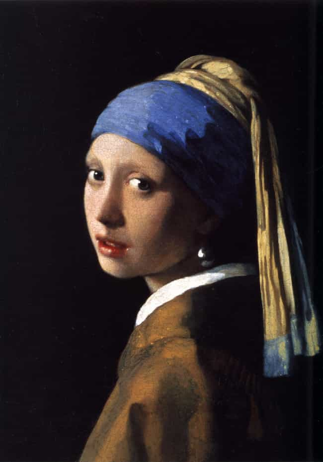 Girl with a Pearl Earring is listed (or ranked) 4 on the list The Best Paintings Of All Time