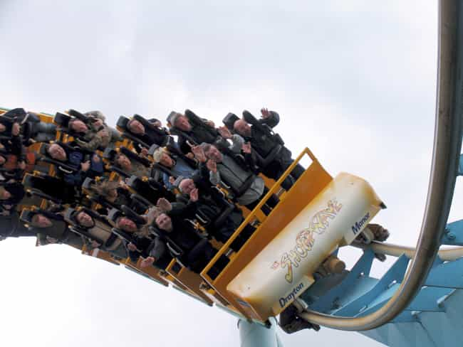 The Shock Wave is listed (or ranked) 1 on the list The Best Rides at Drayton Manor Theme Park