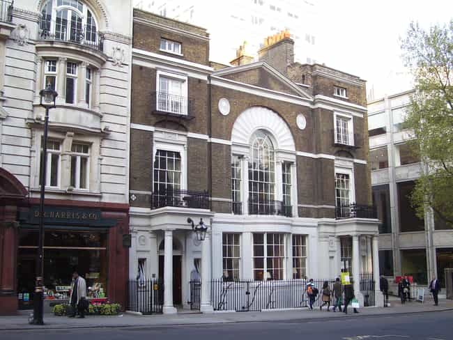 Boodle's is listed (or ranked) 3 on the list List of Robert Adam Architecture