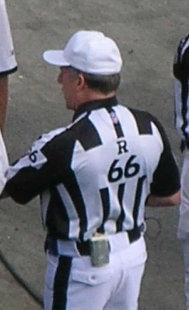 Walt Anderson is listed (or ranked) 3 on the list Famous Male American Football Officials