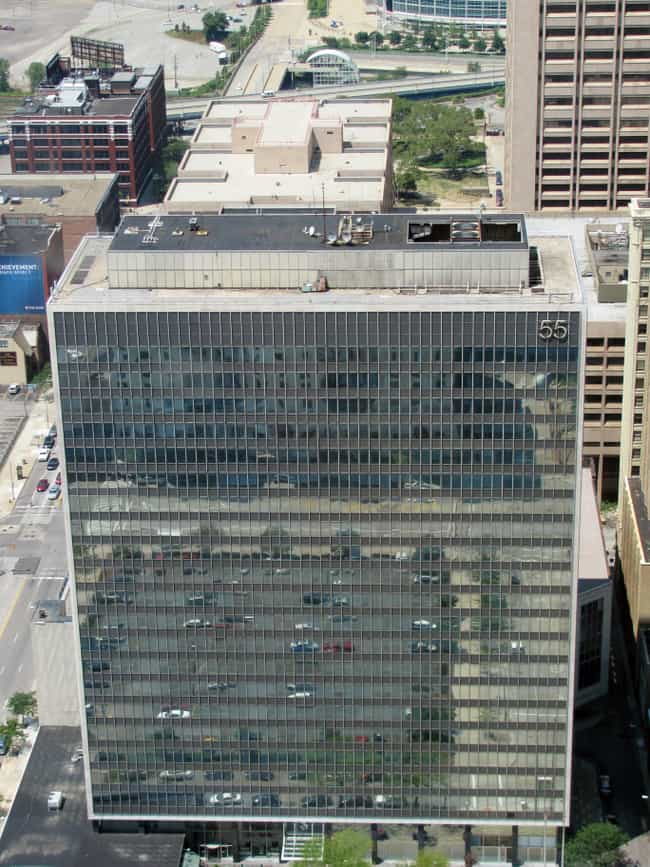 55 Public Square is listed (or ranked) 2 on the list List of Famous Cleveland Buildings & Structures