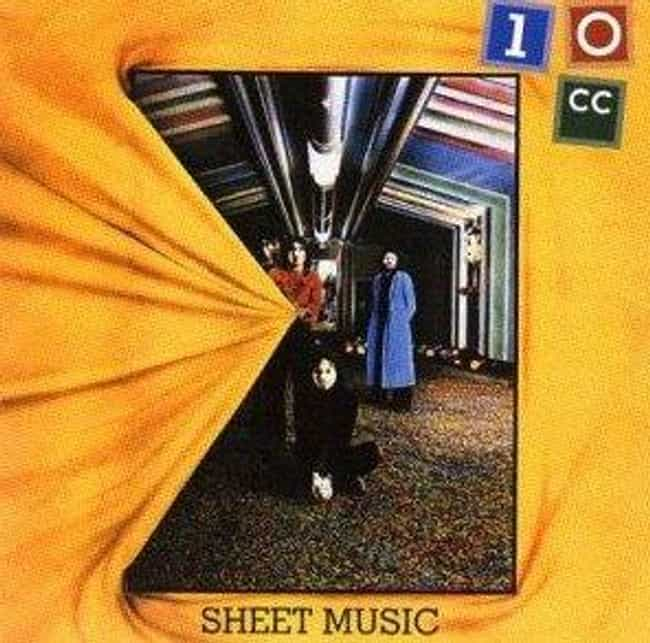 Sheet Music is listed (or ranked) 3 on the list The Best 10cc Albums of All Time