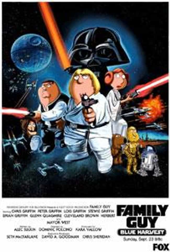 Blue Harvest is listed (or ranked) 1 on the list The Best Cartoon Star Wars Parodies