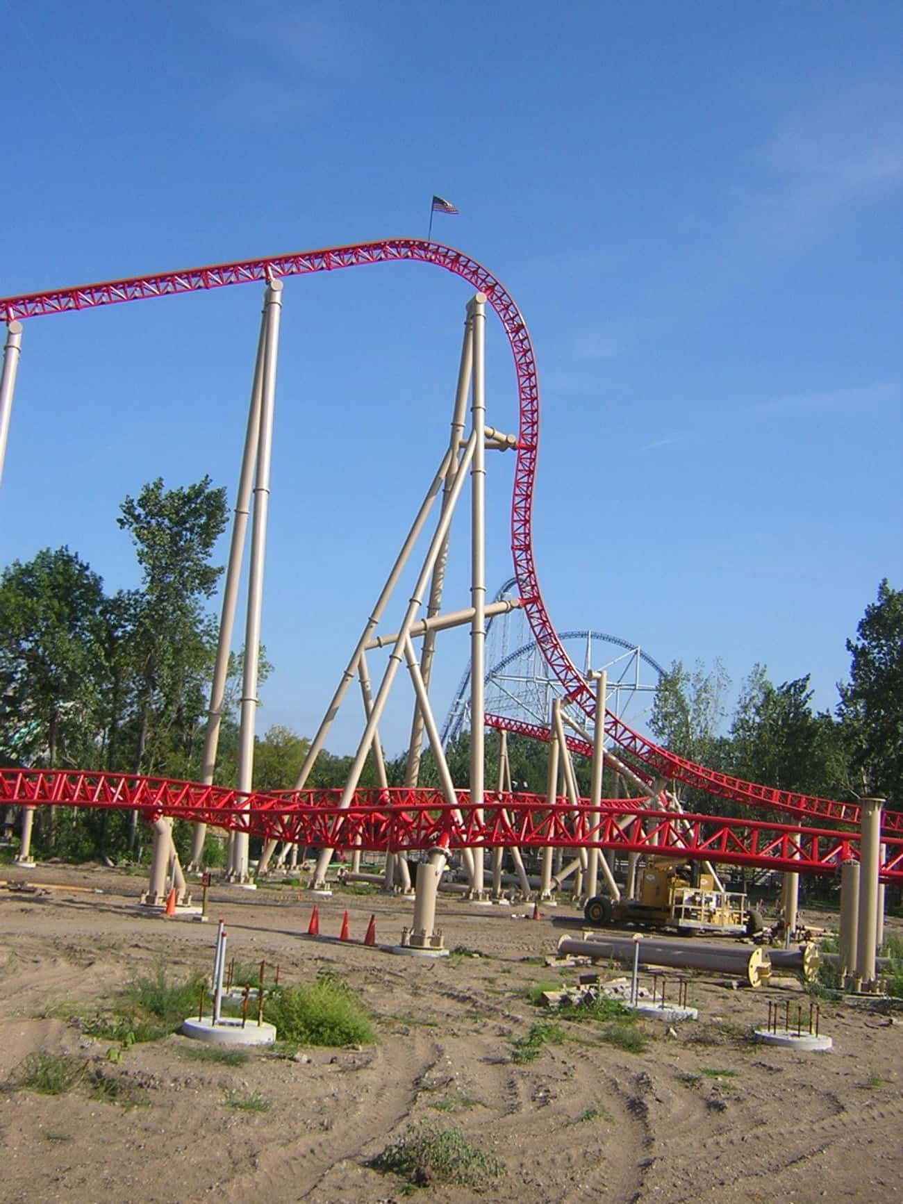 Maverick is listed (or ranked) 2 on the list The Best Roller Coasters in the World