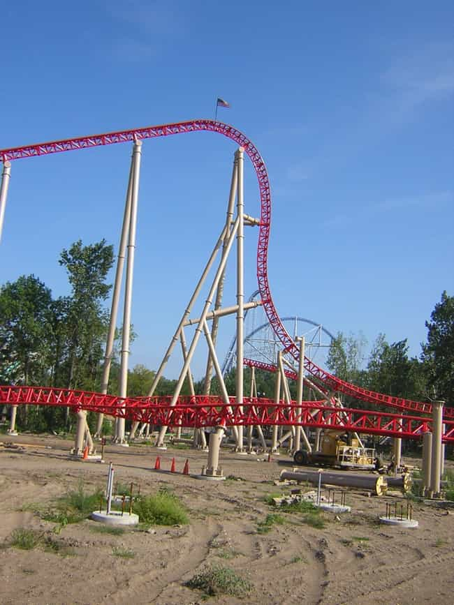 Maverick is listed (or ranked) 4 on the list The Best Roller Coasters in the World