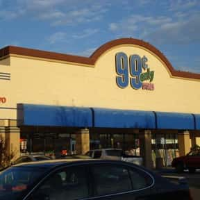 99 Cents Only Stores is listed (or ranked) 1 on the list List of Variety Stores Companies