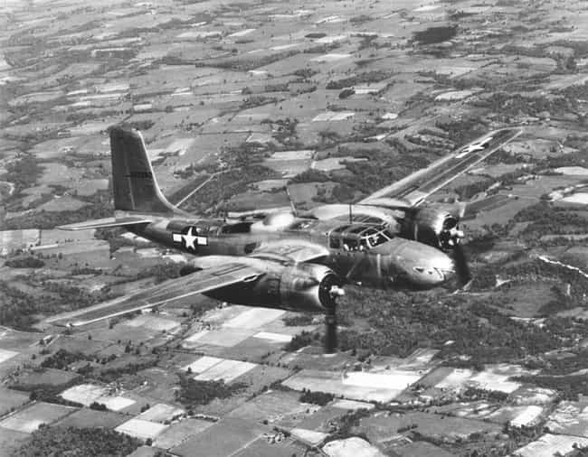 Douglas A-26 Invader is listed (or ranked) 4 on the list Planes Used By United States Air Force