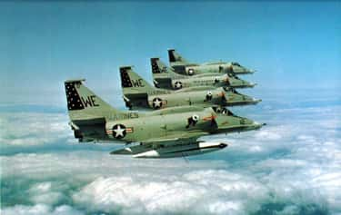 Douglas A-4 Skyhawk is listed (or ranked) 2 on the list McDonnell Douglas Airplanes and Aircrafts