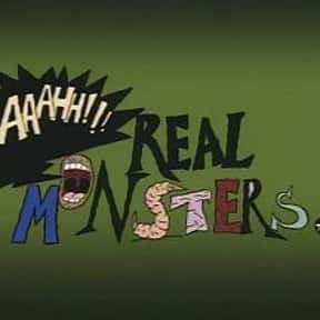 Aaahh!!! Real Monsters is listed (or ranked) 13 on the list The Best Nickelodeon Cartoons of All Time