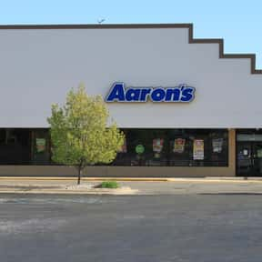 Aaron's, Inc. is listed (or ranked) 1 on the list List of Furniture Companies