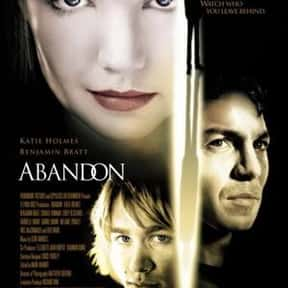 Abandon is listed (or ranked) 20 on the list The Best Thrillers with an Assumed Identity